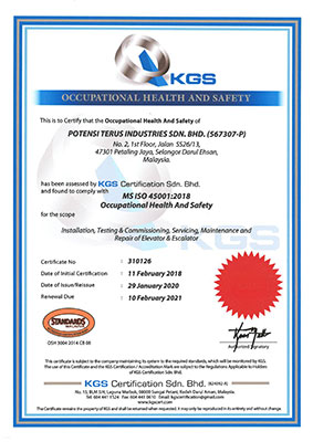 ISO-45001 2018 Occupational Health and Safety