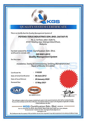 ISO-9001 2015 Quality Management System